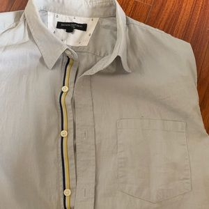 Short Sleeve Button Up Collarblock